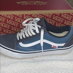 Men's vans old school Pro shoes